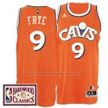 Maillot Cleveland Cavaliers Channing Frye #9 Retro Orange