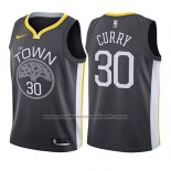 Maillot Enfant Golden State Warriors Stephen Curry #30 Statement 2017-18 Gris