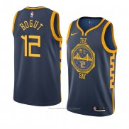 Maillot Golden State Warriors Andrew Bogut #12 Ville 2018-19 Bleu