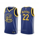 Maillot Golden State Warriors Andrew Wiggins #22 Icon Bleu