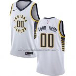 Maillot Indiana Pacers Personnalise 17-18 Blanc