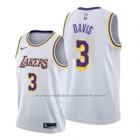 Maillot Los Angeles Lakers Anthony Davis #3 Association 2019 Blanc