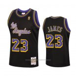Maillot Los Angeles Lakers Lebron James #23 Reload Hardwood Classics 2020 Noir