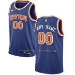 Maillot New York Knicks Personnalise 17-18 Bleu