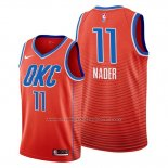 Maillot Oklahoma City Thunder Abdel Nader #11 Statement Orange