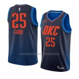 Maillot Oklahoma City Thunder Abdul Gaddy #25 Statement 2018 Bleu