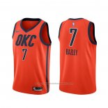 Maillot Oklahoma City Thunder Darius Bazley #7 Earned Orange