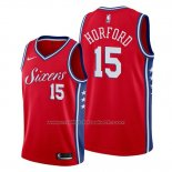 Maillot Philadelphia 76ers Al Horford #15 Statement Rouge
