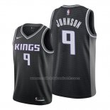 Maillot Sacramento Kings B.j. Johnson #9 Statement Noir