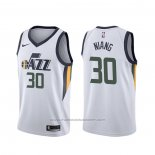 Maillot Utah Jazz Georges Niang #30 Association Blanc