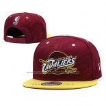 Casquette Cleveland Cavaliers 9FIFTY Snapback Jaune Rouge