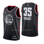 Maillot All Star 2019 Golden State Warriors Kevin Durant #35 Noir