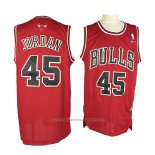 Maillot Chicago Bulls Michael Jordan #45 Retro Rouge3