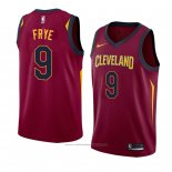Maillot Cleveland Cavaliers Channing Frye #9 Icon 2018 Rouge