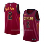 Maillot Cleveland Cavaliers Collin Sexton #2 Icon 2017-18 Rouge