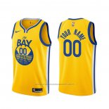 Maillot Golden State Warriors Personnalise Statement 2019-20 Or