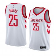 Maillot Houston Rockets Austin Rivers #25 Association 2018 Blanc