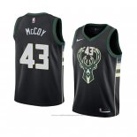 Maillot Milwaukee Bucks Brandon Mccoy #43 Statement 2018 Noir
