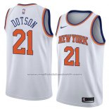 Maillot New York Knicks Damyean Dotson #21 Association 2018 Blanc