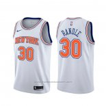 Maillot New York Knicks Julius Randle #30 Statement Blanc