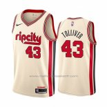 Maillot Portland Trail Blazers Anthony Tolliver #43 Ville Crema