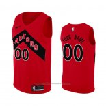 Maillot Toronto Raptors Personnalise Icon 2020-21 Rouge