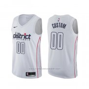 Maillot Washington Wizards Personnalise Ville Blanc