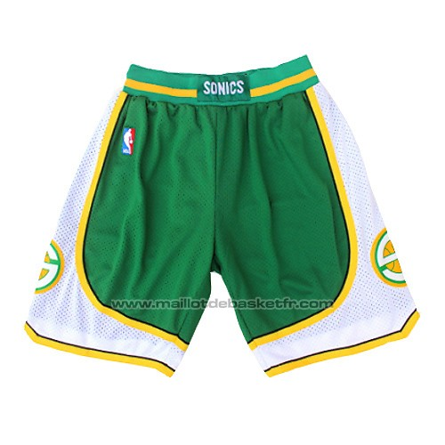 Short Seattle Supersonics Hardwood Classics Vert