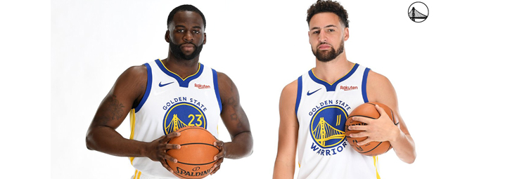 Maillot Golden State