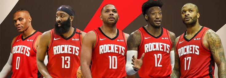 Maillot Houston Rockets