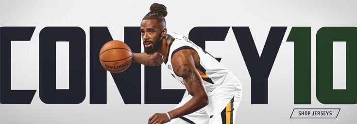 Maillot Utah Jazz